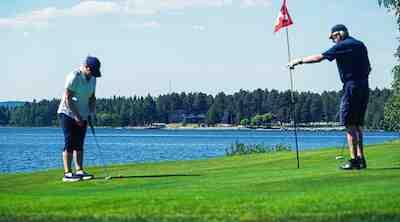 Golf Nurmes Pielis-Golf greenfee, hotellit nurmes, break sokos hotel bomba