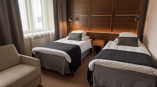 Syksyn tarjous uusittuihn huoneisiin Vaakunassa Joensuussa