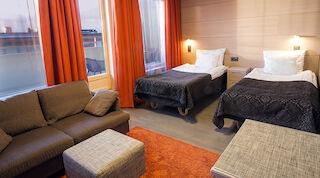 Superior Twin номер Original Sokos Hotel Vaakuna Йоэнсуу Финляндия