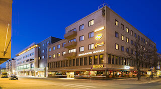 фасад Original Sokos Hotel Vaakuna Йоэнсуу Финляндия