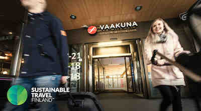 Original Sokos Hotel Vaakuna, Joensuu, Majoitus, Hotelli, Kestävä matkailu, STF, Sustainable Travel Finland