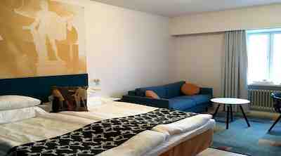 Original Sokos Hotel Vaakuna Pori hotellihuoneuudistus