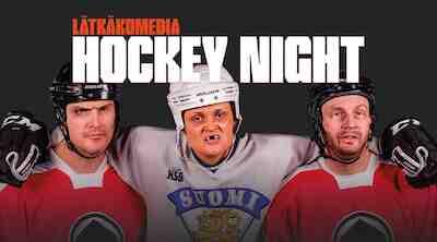 Lätkäkomedia Hokey Night paketti Original Sokos Hotel Porin Vaakunassa
