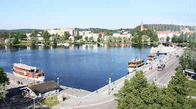 Kesäinen Savonlinna