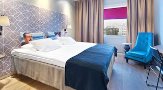 hotel, mikkeli, accommodation, double room