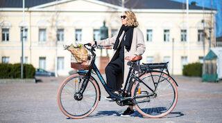vaakuna mikkeli, mikkeli, sähköpyörä, kaupunkipyörä, pyöräily, wheelström