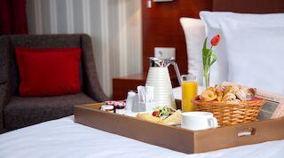 Inroom breakfast