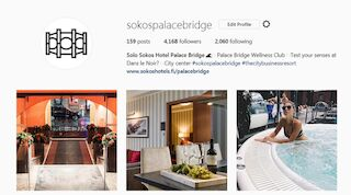 The official Instagram page of Solo Sokos Hotel Palace Bridge