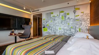 Ville Lausmäe tõi Viru hotelli tubadesse värvi Original Sokos Hotel Viru