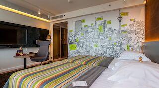 Ville Lausmäe brings colour to Original Sokos Hotel Viru rooms new rooms