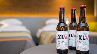 Специальное пиво к юбилею Viru