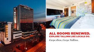 All rooms freshly renovated Viru Tallinn vacation hotel in Tallinn