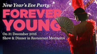 Festive variety show night on New Year's Eve