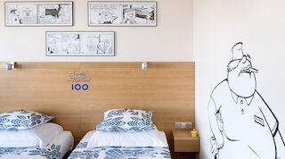 Finland 100 theme room- Fingerpori, Standard Twin
