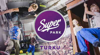 Superpark Turku!