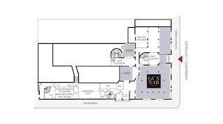 Solo Sokos Hotel Turun Seurahuoneen kokoustilojen pohjapiirrokset