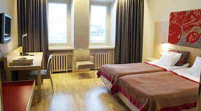 Accommodation, twin room standard, Original Sokos Hotel Hamburger Börs, Turku, Finland, meeting, conference