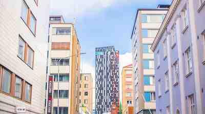 Torni Tampere kaupunkinäkymä