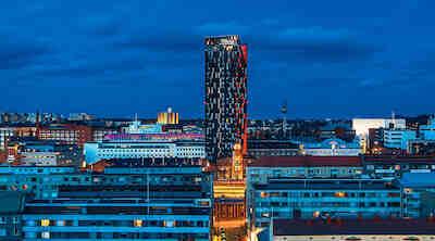 Torni Tampere on vuoden valaistuskohde