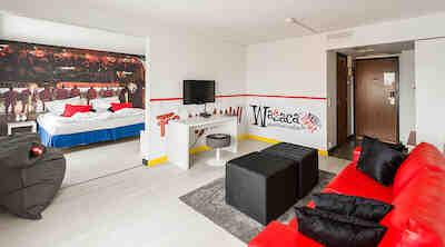 Vaasan Sport juniorsuite Royal Vaasa, hotels Vaasa, suites Vaasa
