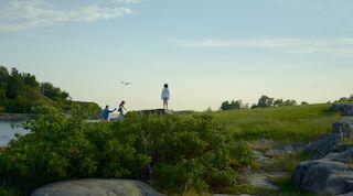 Kaivopuiston ranta. Kuva: Robert Lindström / Helsinki Marketing
