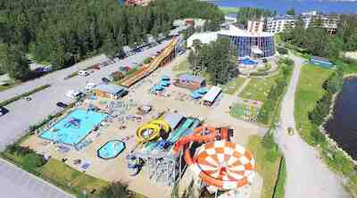 royal vaasa tropiclandia hotellipaketti kylpyläliput kylpylä ulkovesipuisto vesipuistoliput