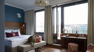 Original Sokos Hotel Vaakuna Superior Room Balcony
