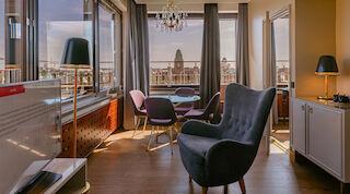 Hemmotteluloma Sviitissä Helsingissä Original Sokos Hotel Vaakuna