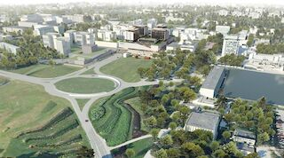 Tapiola city centre is undergoing regeneration