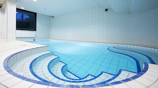 Swimming pool at Original Sokos Hotel tapiola Garden