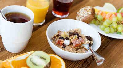 Sokos Hotels Tapiola Garden aamiainen