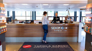Lobbyn - Original Sokos Hotel Tapiola Garden Esbo Finland