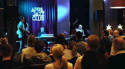 April Jazz Club evenings Original Sokos Hotel Tapiola Garden