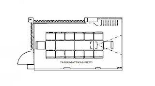 Konferensrummet Taskumatti Original Sokos Hotel Tapiola Garden