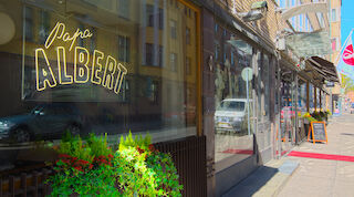 Ресторан Papa Albert - Sokos Hotel Albert Хельсинки Финляндия