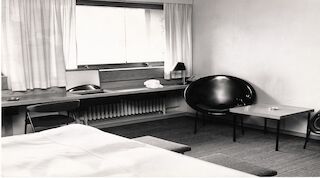 Hotel Helsinki room in the 50-60's