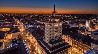 Solo Sokos Hotel Torni yöllä