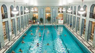 Yrjönkadun uimahalli, Solo Sokos Hotel Torni, Helsinki