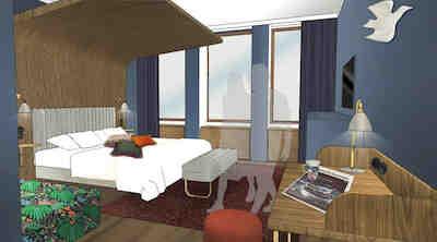 Funkisklassikern Original Sokos Hotel Vaakuna renoveras
