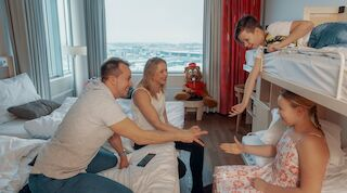 Break Sokos Hotel Flamingo free shuttle bus family holiday family room