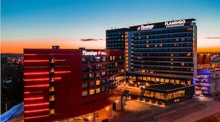 Break Sokos Hotel Flamingo Vantaa free airport shuttle bus jumbo flamingon spa shopping
