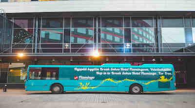 shuttle bus lentokenttäbussi