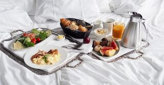 Original Sokos Hotel Vaakuna Breakfast in room