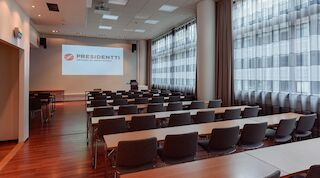 Presidentin kokoustiloja uudistettiin