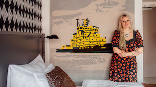 Original Sokos Hotel Presidentti, Ivana Helsinki, Paola Suhonen, Sisu