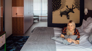 Original Sokos Hotel Presidentti, Ivana Helsinki, Paola Suhonen, Talvimyrsky