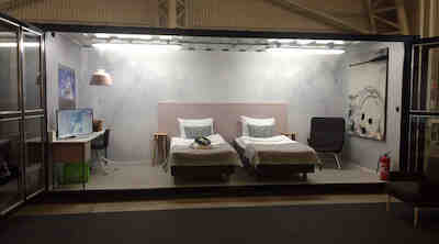 Original Sokos Hotel Presidentti I love me 2016 kontti huone messukeskus