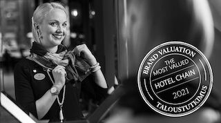Sokos Hotels jätkab Soome hinnatuima hotellibrändina
