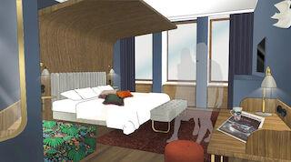 Original Sokos Hotel Vaakuna huoneuudistus