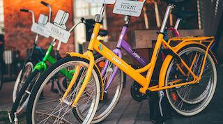 Hotelleissa kannustetaan ekologiseen liikkumiseen esimerkiksi pyöräillen